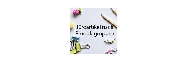 Büroartikel nach Produktgruppen