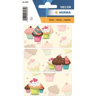 HERMA 3065 DECOR Cupcakes
