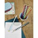 Ergonomischer Dreikant-Bleistift für Rechtshänder - STABILO EASYgraph in petrol - Einzelstift - Härtegrad HB