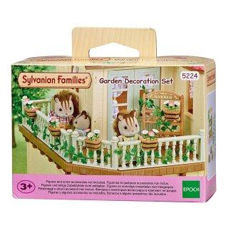 Sylvanian Families 5224 - Gartenset, Sammelfiguren und Zubehör