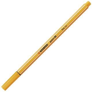 Fineliner - STABILO point 88 - Einzelstift - orange