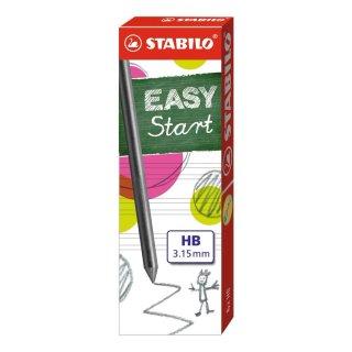 Minen zum Nachfüllen - STABILO EASYergo 3.15 Nachfüllminen - 15 x 6er Pack im Display - Härtegrad HB
