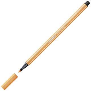 Premium-Filzstift - STABILO Pen 68 - Einzelstift - neonorange