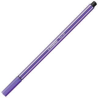 Premium-Filzstift - STABILO Pen 68 - Einzelstift - violett