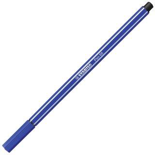 Premium-Filzstift - STABILO Pen 68 - Einzelstift - ultramarinblau