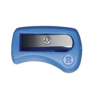 Ergonomischer Spitzer für Rechtshänder - STABILO EASYergo 3.15 Spitzer - blau
