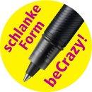 Tintenroller - STABILO beCrazy! - Uni colors in rhodamin...