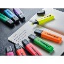 Textmarker - STABILO BOSS ORIGINAL - 4er Big Box - gelb, orange, grün, pink