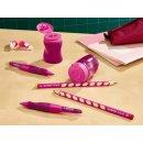 Ergonomischer Dosen-Spitzer für Linkshänder - STABILO EASYsharpener - 3 in 1 - pink