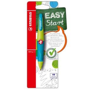 STABILO EASYergo 1.4 inkl. 3 dünner HB Minen - ergonomischer Druckbleistift f...