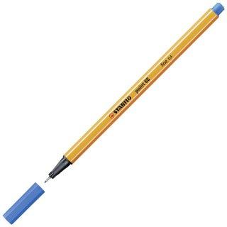 Fineliner - STABILO point 88 - Einzelstift - mittelblau