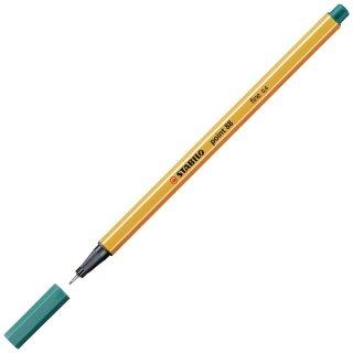 Fineliner - STABILO point 88 - Einzelstift - türkisblau
