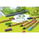 Umweltfreundlicher Filzschreiber - STABILO GREENpoint - Einzelstift - lila