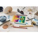 Premium-Filzstift - STABILO Pen 68 - 10er Metalletui - mit 10 verschieden Farben