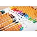 Fineliner - STABILO point 88 - Einzelstift - Neonfarbe, leuchtfarbengelb
