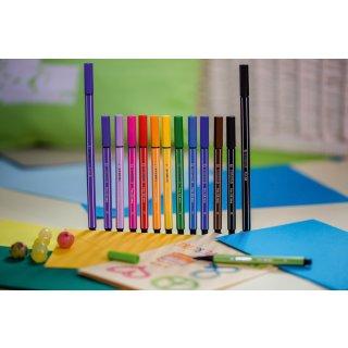 Fineliner & Filzstifte - STABILO point 88 Mini & Pen 68 Mini - 8er Pack - Neonfarben