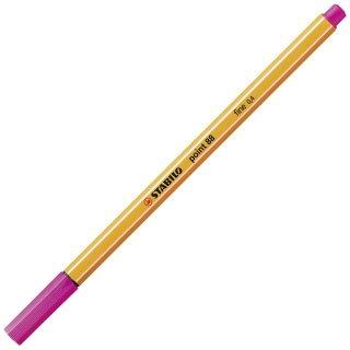 Fineliner - STABILO point 88 - Einzelstift - pink
