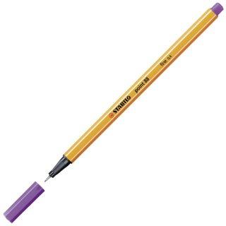 Fineliner - STABILO point 88 - Einzelstift - violett