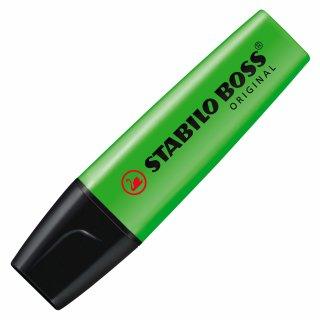 Textmarker - STABILO BOSS ORIGINAL - Einzelstift - grün