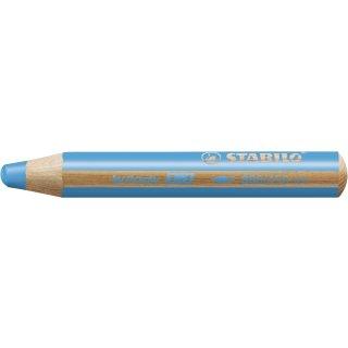Multitalent-Stift STABILO® woody 3 in 1, cyanblau