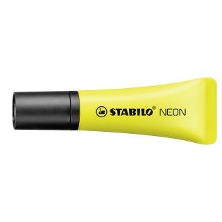 Textmarker - STABILO NEON - Einzelstift - gelb