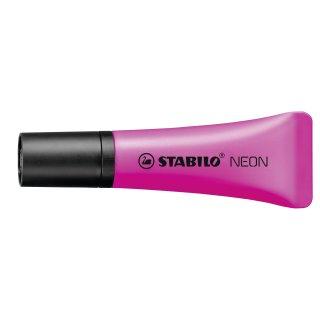 Textmarker - STABILO NEON - Einzelstift - magenta