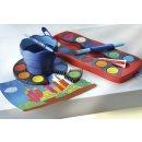 Einzelfarbe Connector cyanblau