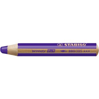 Multitalent-Stift STABILO® woody 3 in 1, violett