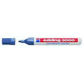 Permanentmarker 3000 stahlblau