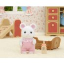 Sylvanian Families 5069 Weiße Mäuse Baby, Püppchen