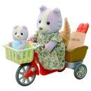 Sylvanian 4281 Radfahren mit Mutter