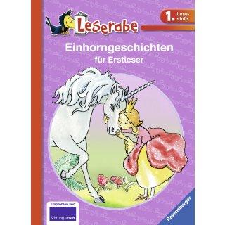 Einhorngeschichten für Erstleser, Leserabe (Deutsch) Gebundenes Buch