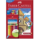 Faber-Castell 201436 - Buntstift Colour GRIP, 24er Etui...