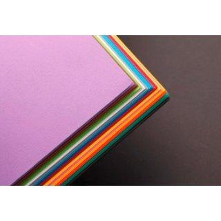 Clairefontaine 97298C Fotokarton Pack, 28 Bögen Premium, 50 x 70 cm, 270 g, Sortierung, 14 farben