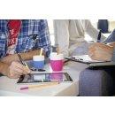 Kugelschreiber & Stylus für Tablets & Smartphones für Rechtshänder - STABILO SMARTball 2.0 in schwarz/kiwi - Einzelstift - Schreibfarbe schwarz