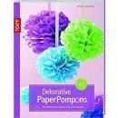 Dekorative PaperPompons: Papierdekorationen für...