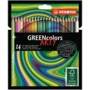 Umweltfreundlicher Buntstift - STABILO GREENcolors - ARTY...