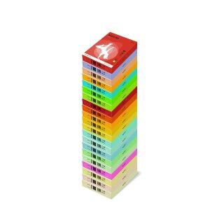 Kopierpapier MAESTRO® color, intensivfarben, A3, 80 g/qm, ziegelrot